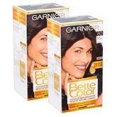 Garnier Garnier Belle Color coloration permanente 80 noir naturel x2