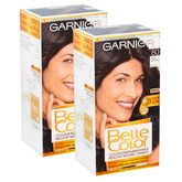 Garnier belle color coloration 80 noir x2