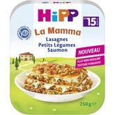 HiPP Hipp Assiette lasagnes de petits légumes et saumon dès 15 mois 250g