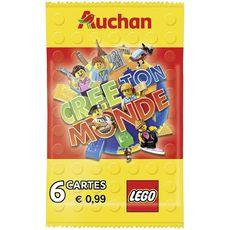LEGO Lego Paquet de 6 cartes crée ton monde x1 1 pièce