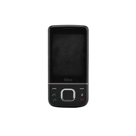 QILIVE Téléphone portable - Double SIM - A clapet - Noir - SLIDE