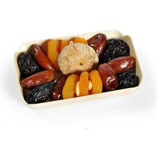 SUN Sun Assortiment de fruits secs : abricot pruneau datte figue amande 200g 200g