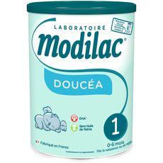 Modilac Doucéa 1 lait 1er âge en poudre dès la naissance à 6 mois 800g