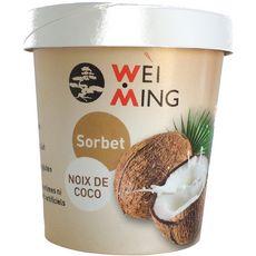 WEI MING Sorbet à la noix de coco 350g