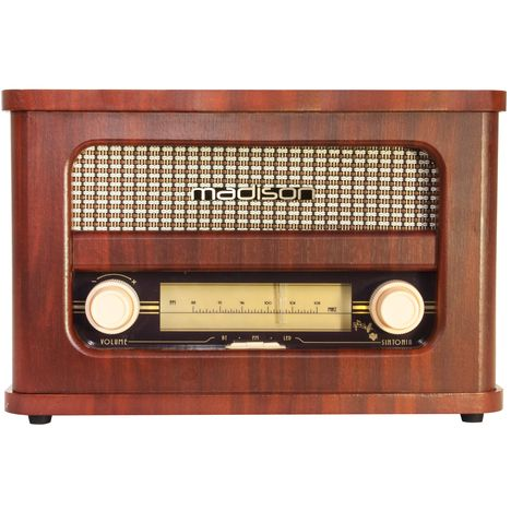 MADISON Radio FM Bluetooth - Vintage - MAD-RETRORADIO