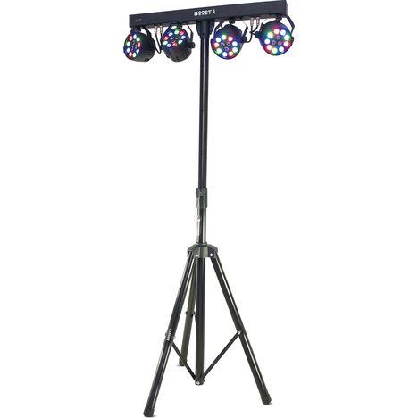 BOOST Support de lumière avec 4 projecteurs - BOOST