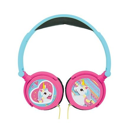 LEXIBOOK Casque audio filaire - Licorne - HP017