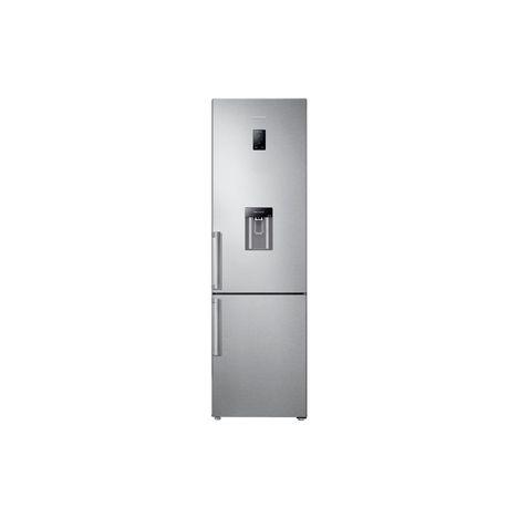 SAMSUNG Réfrigérateur combiné RB37J5925SS, 360 L, Froid No Frost