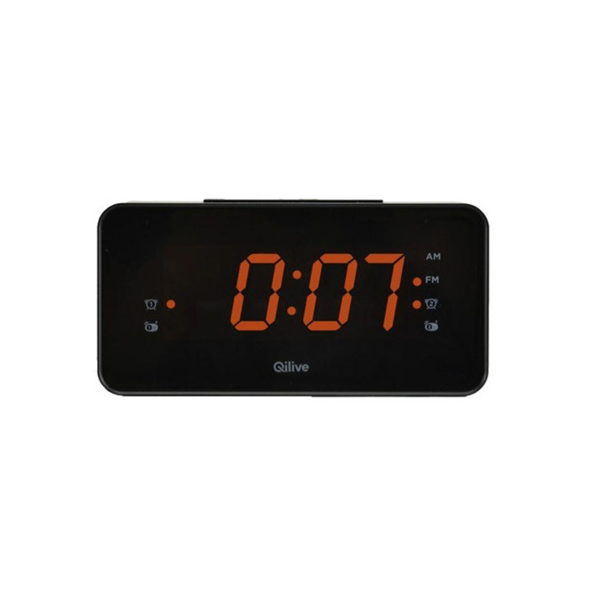 Radio réveil - Noir - Q.1133