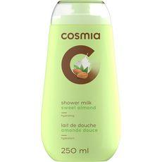 Cosmia Lait de douche hydratant à l'amande douce 250ml