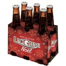 LICORNE Licorne Bière de Noël 5,8% 6x33cl 6x33cl