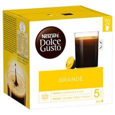 DOLCE GUSTO Café grande en dosette 30 dosettes 240g