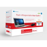 ACER Pack Ultraportable SWIFT 1 - PC Ultraportable SWIFT 1 - 1 abonnement Office 365 Personnel - Souris sans fil Microsoft 1850