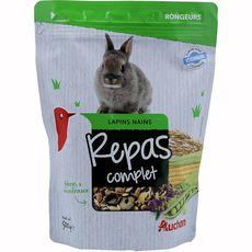 AUCHAN Repas complet pour lapins nains 500g