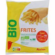 Auchan frites classic bio 600g