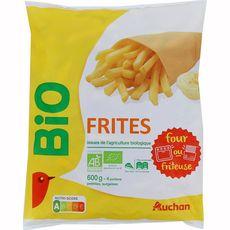 AUCHAN BIO Frites classique 600g