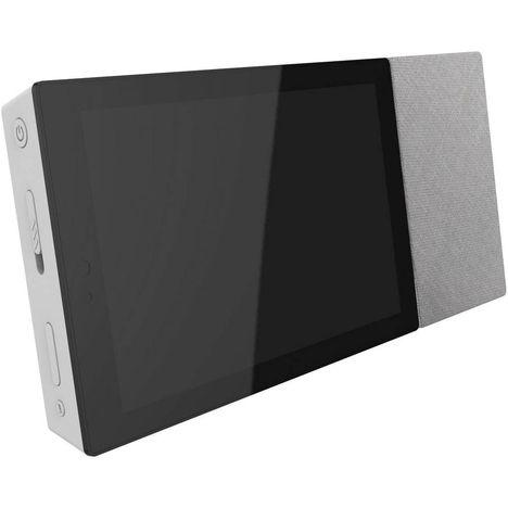 ARCHOS Assistant vocal - Hello 7 - Gris et Bois - Bluetooth - WiFi - USB - Ecran tactile 7