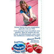 Ocean spray Boisson cranberry framboise 1,25l