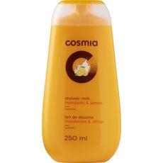 COSMIA Lait de douche mandarine et citron