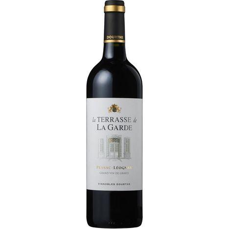 SANS MARQUE AOP Pessac-Léognan Second vin du Château La Garde La Terrasse de la Garde 2018 rouge