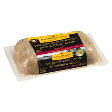 MAITRES OCCITANS Foie gras entier de canard mi-cuit du sud-ouest au piment d'Espelette  4/6 parts 200g