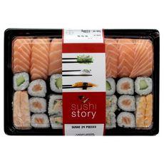 SUSHI STORY Sushi Story Plateau de 24 pièces 532g 532g