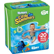 Huggies little swimmers maxi pack taille 3/4 x20