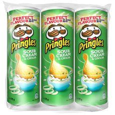 Pringles cream&oignon 3x175g