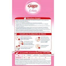 GUIGOZ Guigoz Optipro 2 sachet lait 2ème âge en poudre de 6 à 12 mois 1kg 1kg