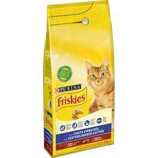 FRISKIES Croquettes au boeuf et légumes pour chat stérilisé 2kg