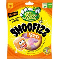 Lutti smoofizz fruits 200g
