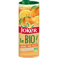 Joker le bio jus d'orange sans pulpe 1l