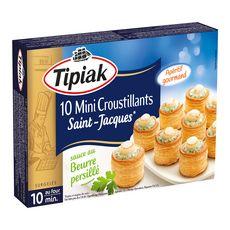 TIPIAK Tipiak Mini-croustillant de Saint-Jacques 120g 10 pièces 120g