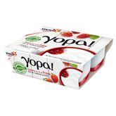 Yoplait Yopa 0% sur lit de fraise 4x100g