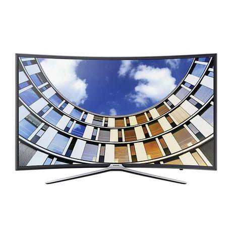ue49m6305 tv led full hd 123 cm incurv smart tv samsung pas cher prix auchan. Black Bedroom Furniture Sets. Home Design Ideas