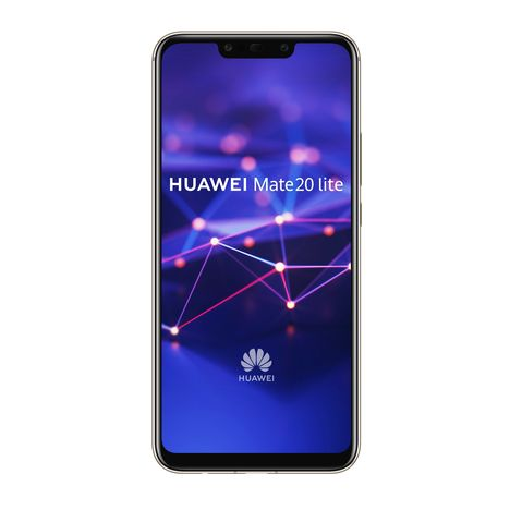 HUAWEI Smartphone - Mate 20 lite - 64 Go - 6.3 pouces - Or - Double SIM