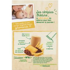 BLEDINA Blédine éveil cacao biscuité en poudre 12x20g dès 6 mois