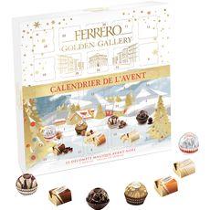 FERRERO Ferrero golden galery calendrier de l'avent 230g