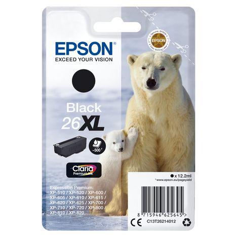 EPSON Cartouche 26XL Noir