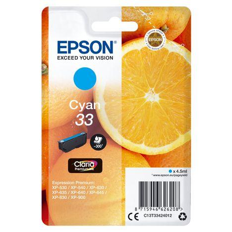 EPSON Cartouche d'encre T3342 - Cyan
