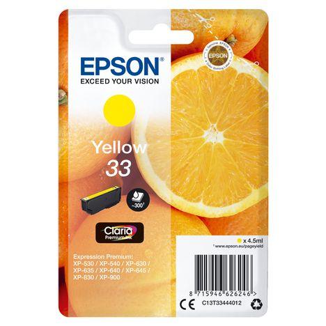 EPSON Cartouche d'encre T3344 - Jaune