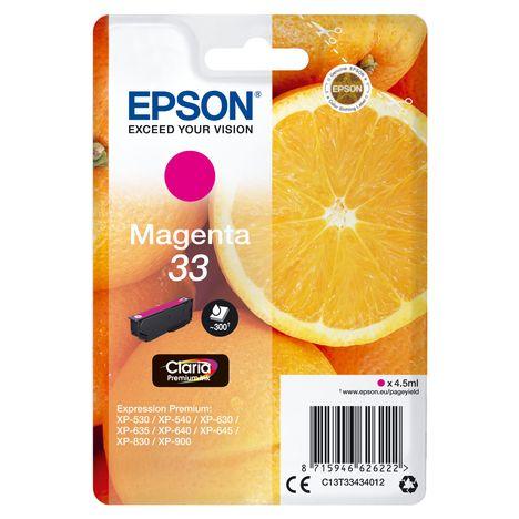 EPSON Cartouche d'encre T3343 - Magenta
