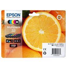 EPSON EPSON MULTI PACK 5 CARTOUCHES ORANGE