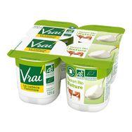 Vrai yaourt nature bio 4x125g