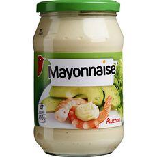 AUCHAN Mayonnaise en bocal 710g