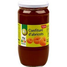 POUCE Confiture d'abricots 1kg