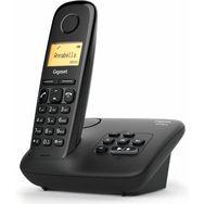 GIGASET Téléphone fixe - AL170A - Noir - Répondeur
