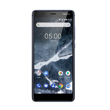 NOKIA Smartphone - 5.1 - 16 Go - Bleu - Double SIM - 4G