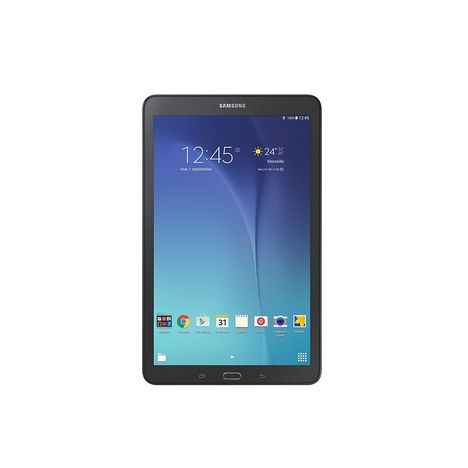 SAMSUNG Tablette tactile Galaxy Tab E Noir