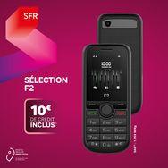 SFR Pack Prépayé avec Mobile Sélection F2 et Carte Sim